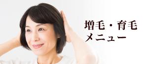 増毛・育毛メニュー